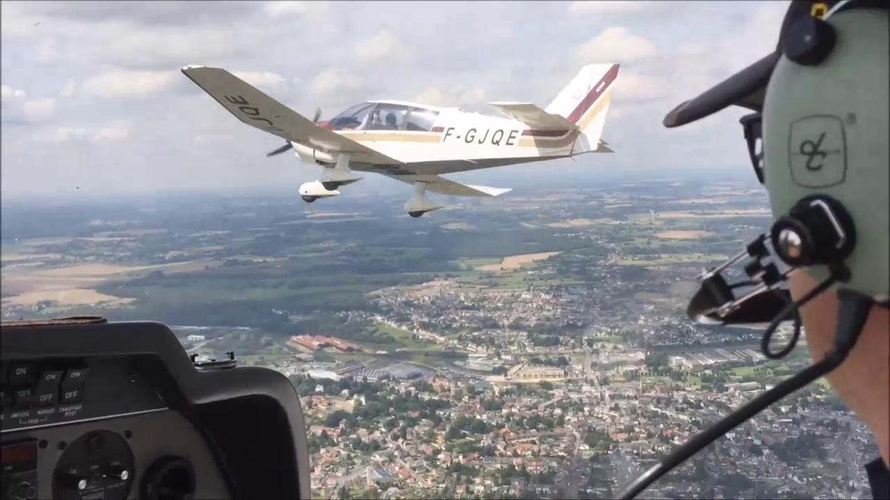 Nouveau  : formation vol en patrouille