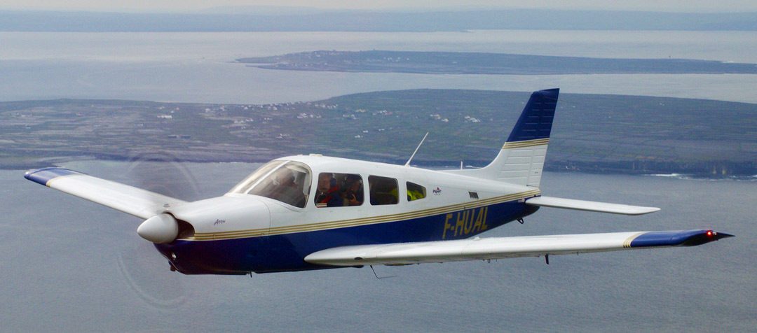 Un nouvel avion rejoint la flotte : le Piper PA-28