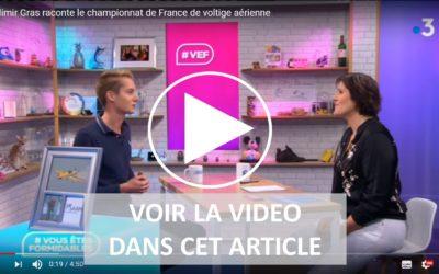 Vladimir Gras devient champion de France de voltige – catégorie N2