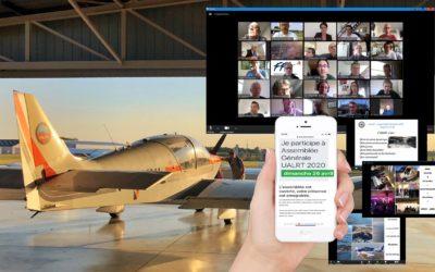 L'aéro-club effectue son assemblée générale virtuelle : une première
