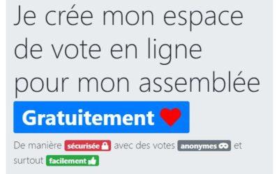 L'UALRT met à disposition gratuitement sa plateforme de vote électronique